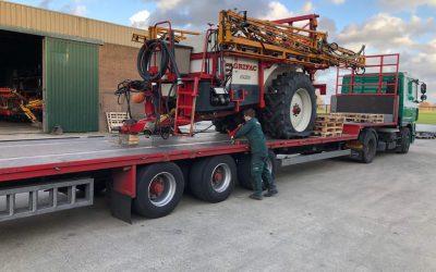 Agrifac veldspuit afgeleverd