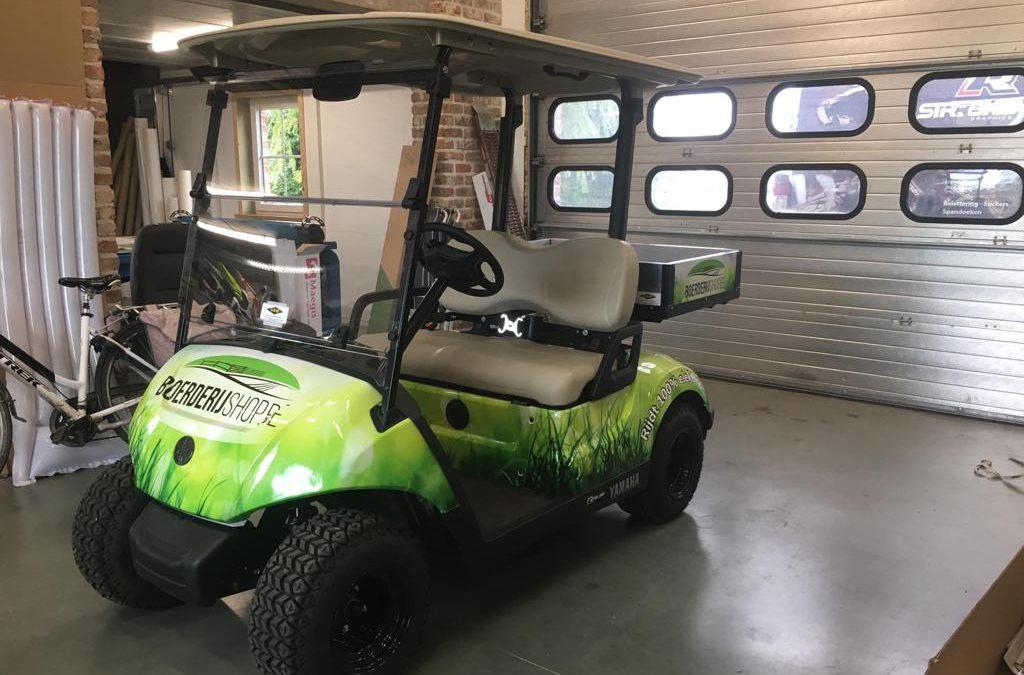 Elektrische Yamaha golfkar