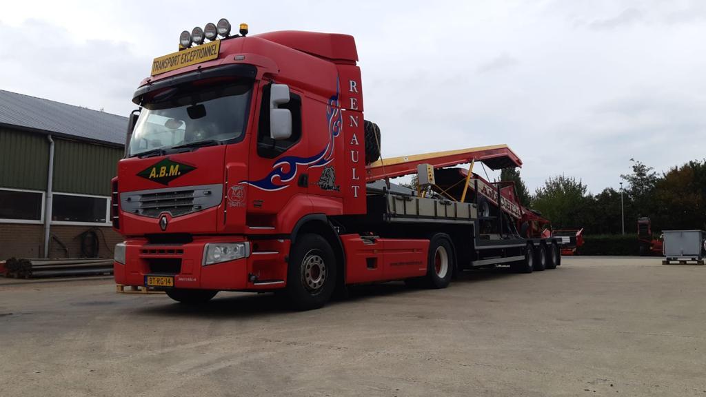 Transportbanden richting België